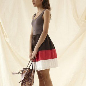Anthropologie Facile Colorblock Dress by Maeve